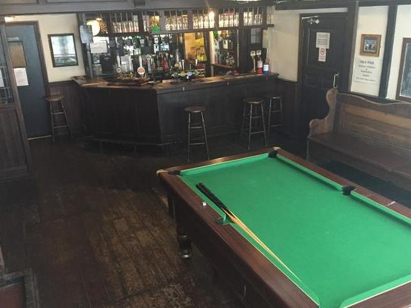 Of all the pubs in Church Stretton we are theonly one with a pool table.